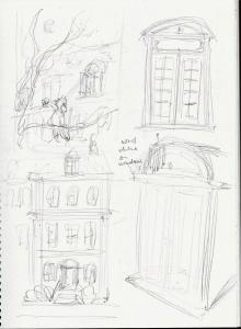 Darling Residence sketches