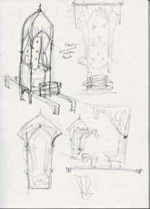Hook's Palanquin sketches