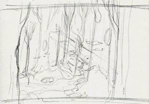 Neverland Woods Sketch