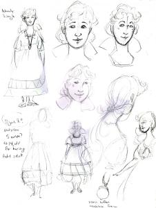 Rough sketches